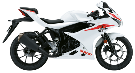 GSX-R125 Brilliant White