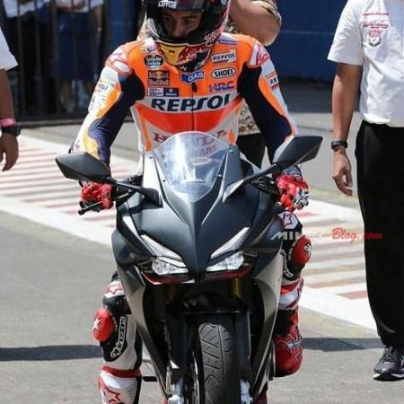 Marquez Jajal CBR250RR di Sentul