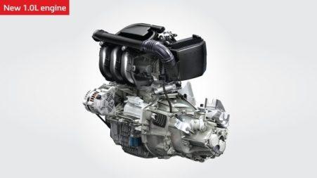 Mesin 1.0 liter Renault Kwid