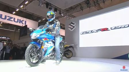 Launching GSX-R125 di Intermot 2016