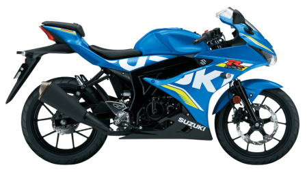 GSX-R125 Metallic Triton Blue