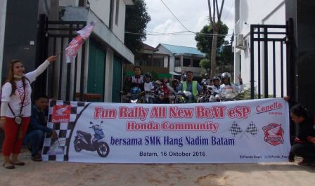 Fun Rally Honda Community bersama SMK Hang Nadim