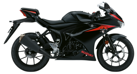 GSX-R125 Solid Black