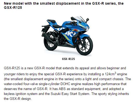 Penjelasan GSX-R125