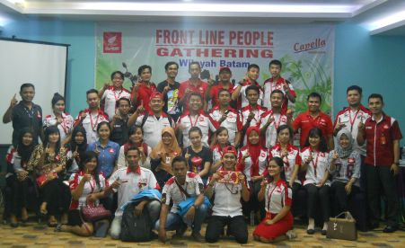 Front Line People Gathering Honda Batam