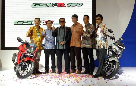 Launching GSX-R150 di IMOS 2016