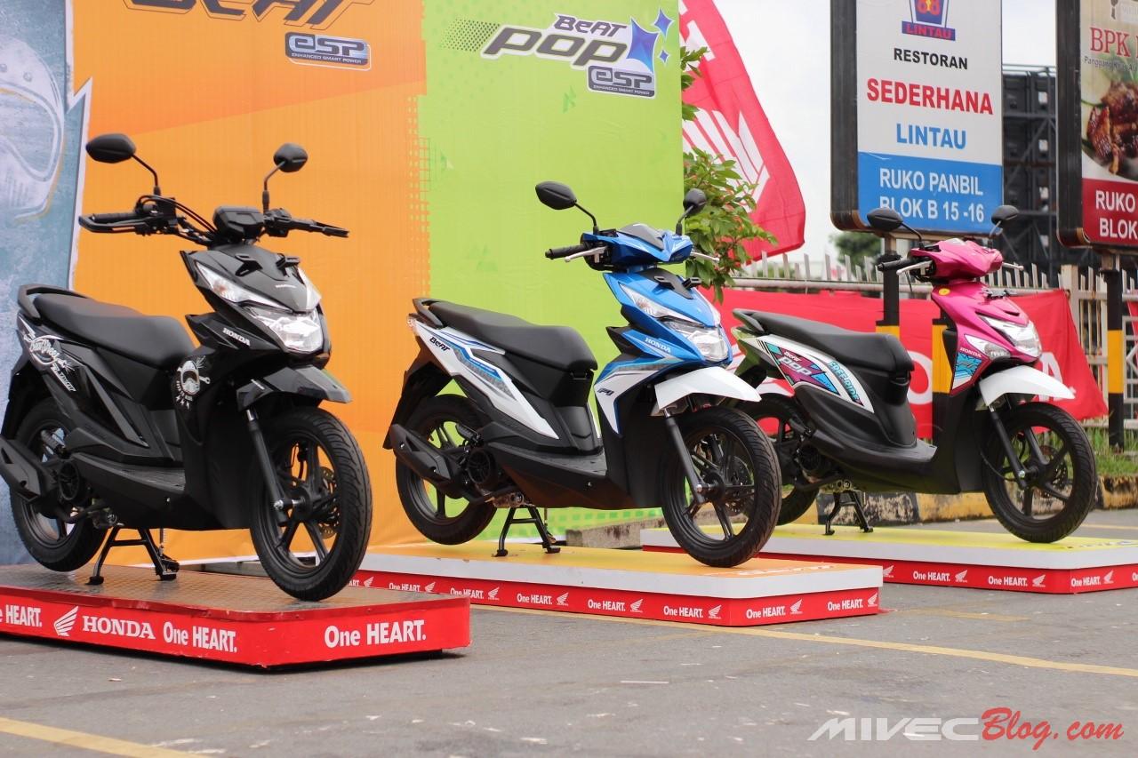Luncurkan New Honda Beat Street Di Batam Kini Pilihan Honda Beat