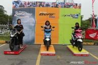 Tiga sekawan - Honda Beat