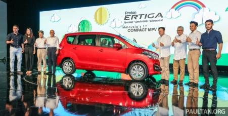 Launching Proton Ertiga di Malaysia