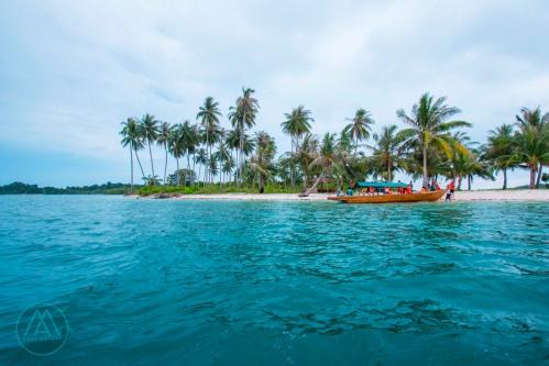 Ini lho Pulau Rano yang cantik itu