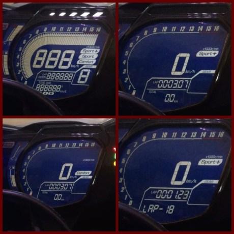 Riding Mode CBR250RR