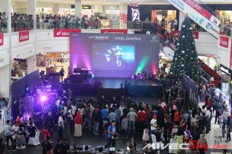 Meriahnya Launching CBR250RR di Kepri Mall Batam