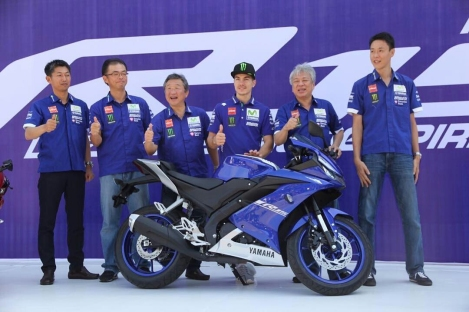 Launching All New R15 di Sentul