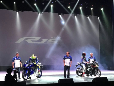 Launching internal All New Yamaha R15