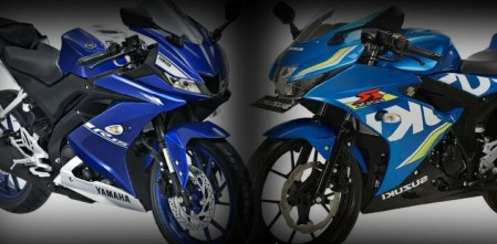 All New R15 vs GSX-R150