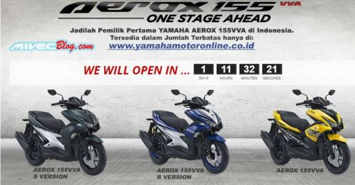 Inden Online Yamaha Aerox 155