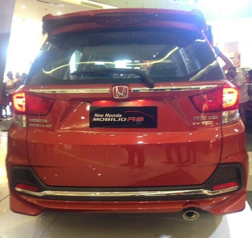 Tampilan Belakang New Mobilio RS