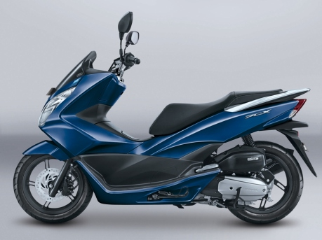 Honda PCX Exclusive Poseidon Blue