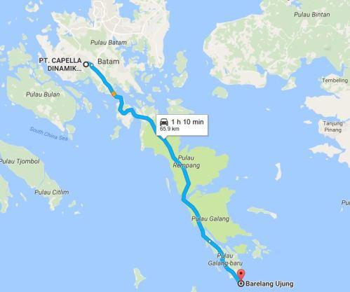 Yang ini versi Google Map