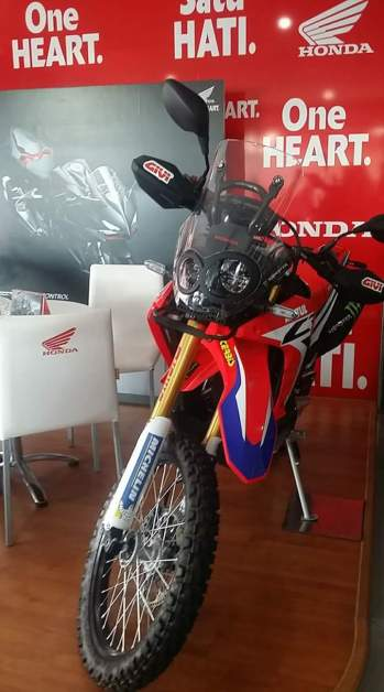 CRF250 Rally di Batam