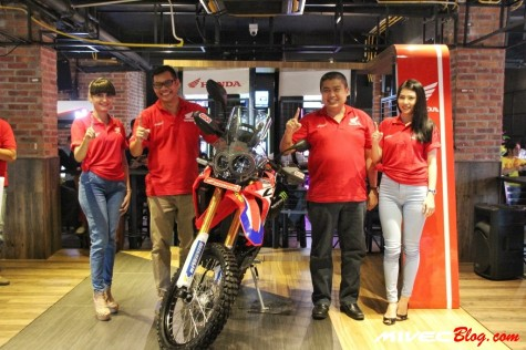 Launching CRF250 Rally Batam