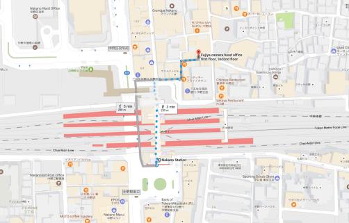 Lokasi Fujiya Camera