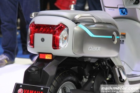 Yamaha QBIX - Lampu belakangnya Keren