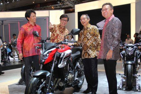 Honda CB650F Baru di IIMS 2017