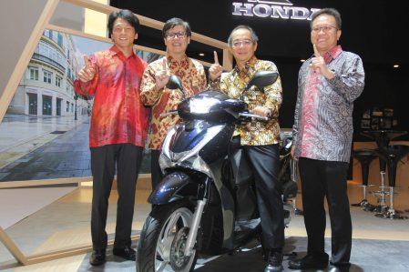 Launching Honda SH150i di IIMS 2017
