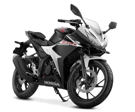 CBR150R - Slick Black White