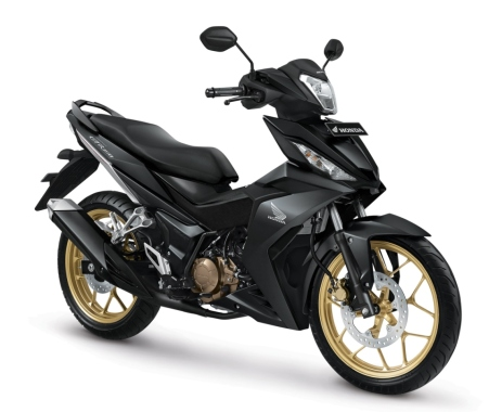 New Honda Supra GTR150-Gun Black