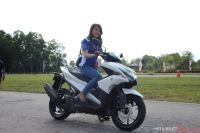 Test Ride Aerox 155 di Sirkuit Marina (19)