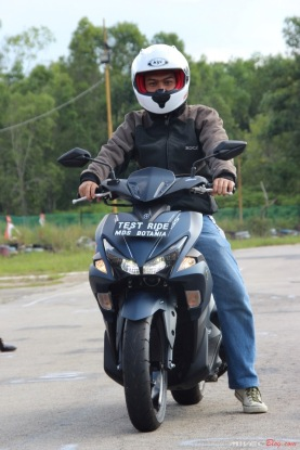 Test Ride Aerox 155 di Sirkuit Marina (25)
