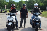Test Ride Aerox 155 di Sirkuit Marina
