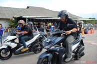Test Ride Aerox 155 di Sirkuit Marina (35)