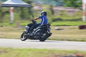 Test Ride Aerox 155 di Sirkuit Marina (40)
