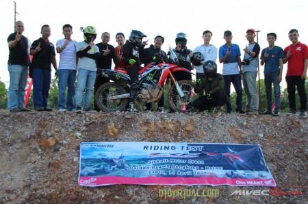 Test Ride CRF250 Rally - Batam