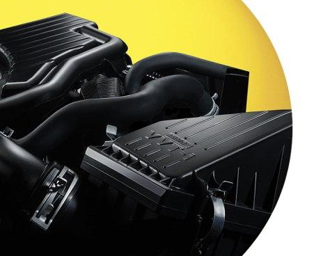 Mesin baru 1.200 cc dengan VVTi