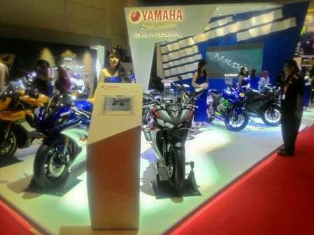 Booth Yamaha di IIMS 2017