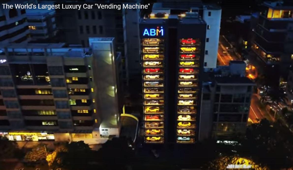 Keren Dealer Mobil Ini Didesain Layaknya Vending Machine