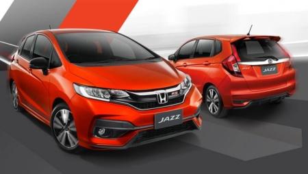 Honda Jazz Facelift 2017 Thailand
