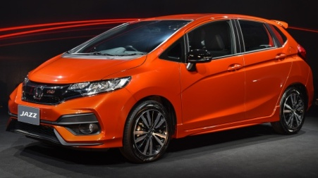Honda Jazz Facelift 2017 - Depan
