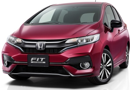 Gambar Official Honda Jazz/Fit Facelift 2017