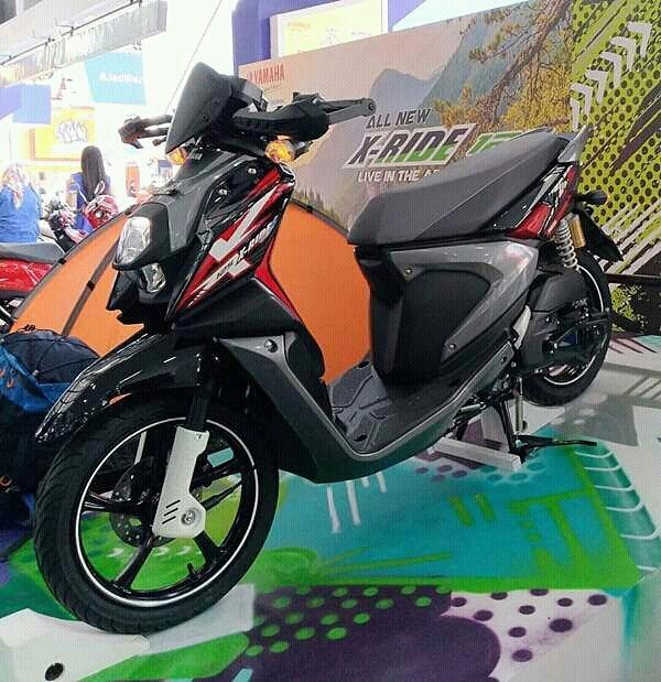 Hari Ini Yamaha All New X Ride 125 Resmi Meluncur Harga 17 Jutaan