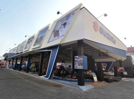 Booth Suzuki di Jakarta Fair 2017