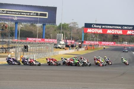 WSBK di Chang International Circuit