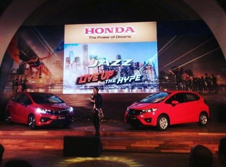 Peluncuran New Honda Jazz Facelift