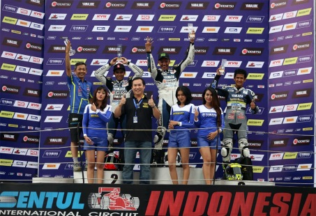 Podium Yamaha Sunday Race Seri 2