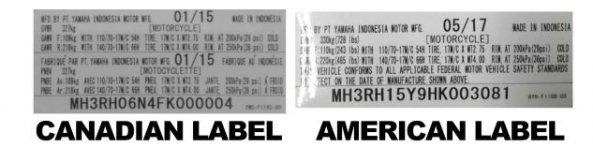 Recall Yamaha R3 Karena Kesalahan Label VIN