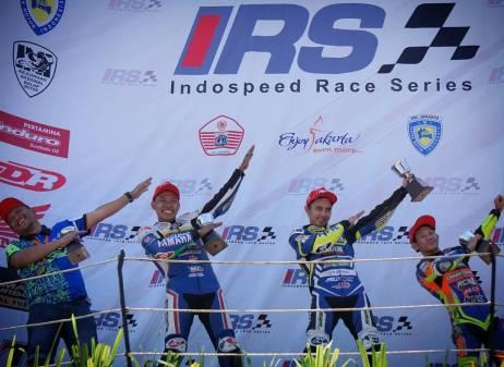 Pembalap Yamaha kembali Dominasi Podium Race 2 IRS Seri 3 Kelas 150cc